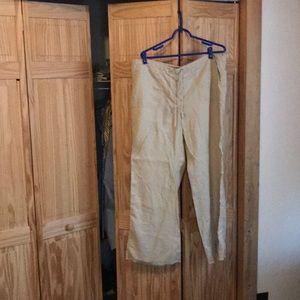 MODA Intl. linen beach pants